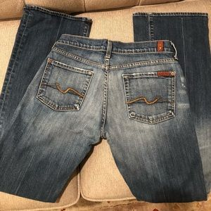 7 FAM Bootcut Jeans Size 28